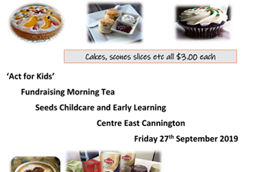 Act for Kids Morning Tea