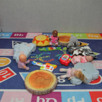 alphabets and numbers mat