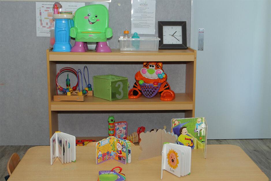 nursery books and toys