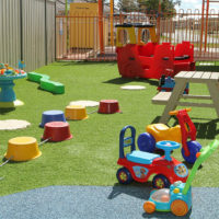 outdoor open playground