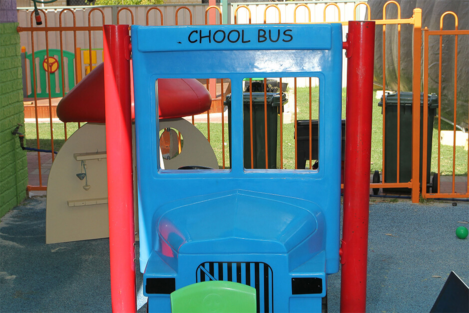 school bus playground