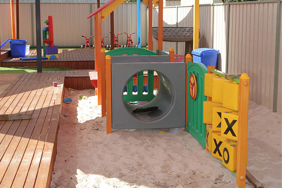 covered outdoor playground