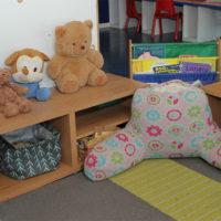 kinder room book corner