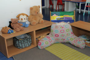 kinder room book corner