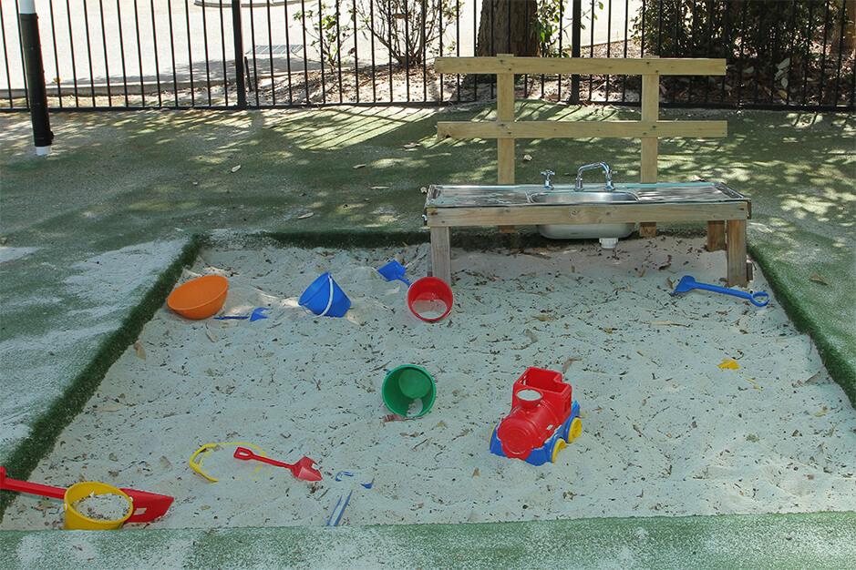 mini sand pit