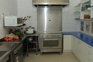 kitchen at st james centre